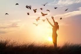 love, peace, joy comes with forgiveness